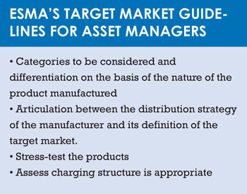 ESMA guidelines asset managers