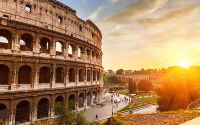 Colloseum-at-sunset
