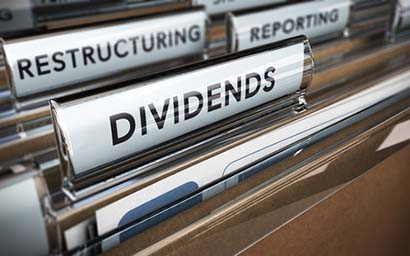Dividends growth slows