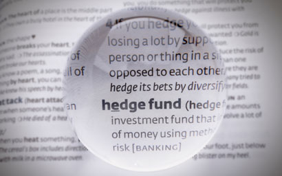 Hedge funds suffer outflows