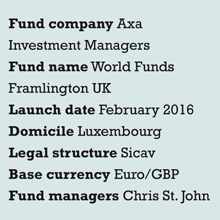 Axa fund launch box