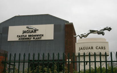 Jaguar assembly plant