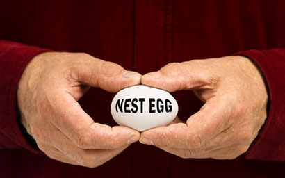 Pension nest egg 410