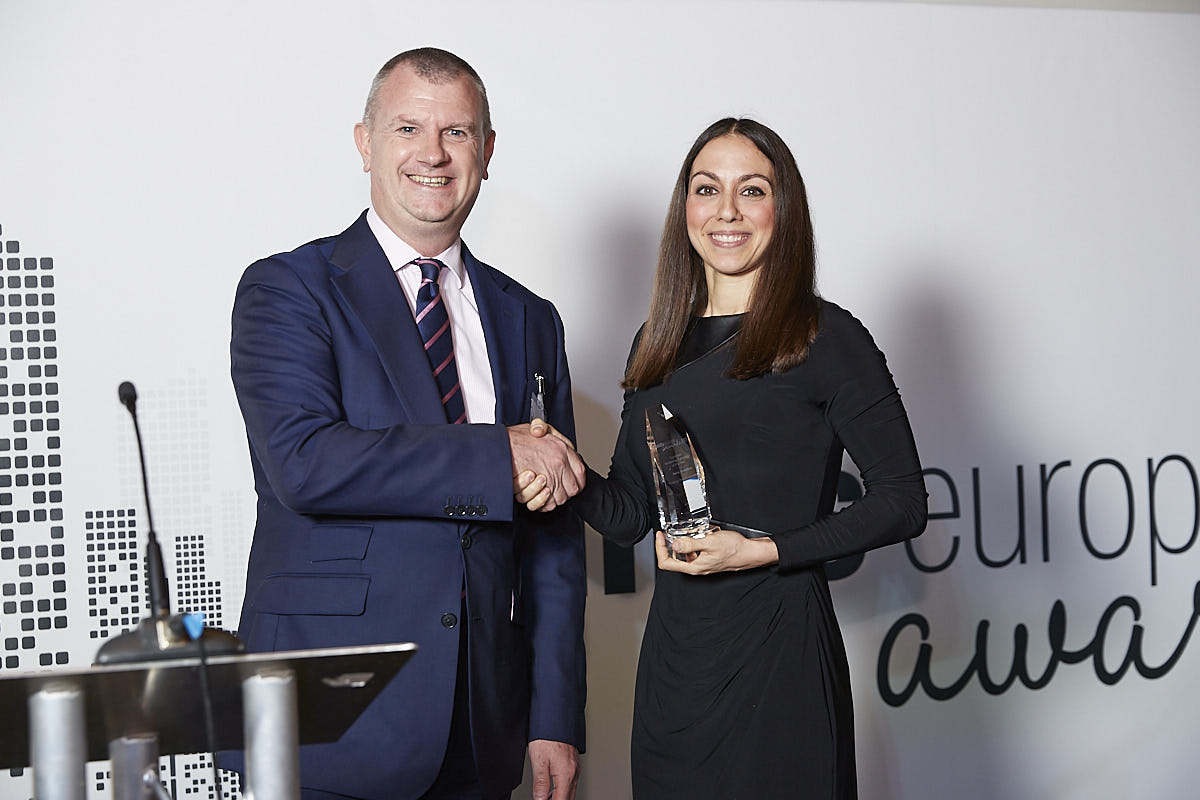 Marketing Campaign - Aviva Investors. Accepted by Frederica Stanelli, presented by Keith Dingwall.