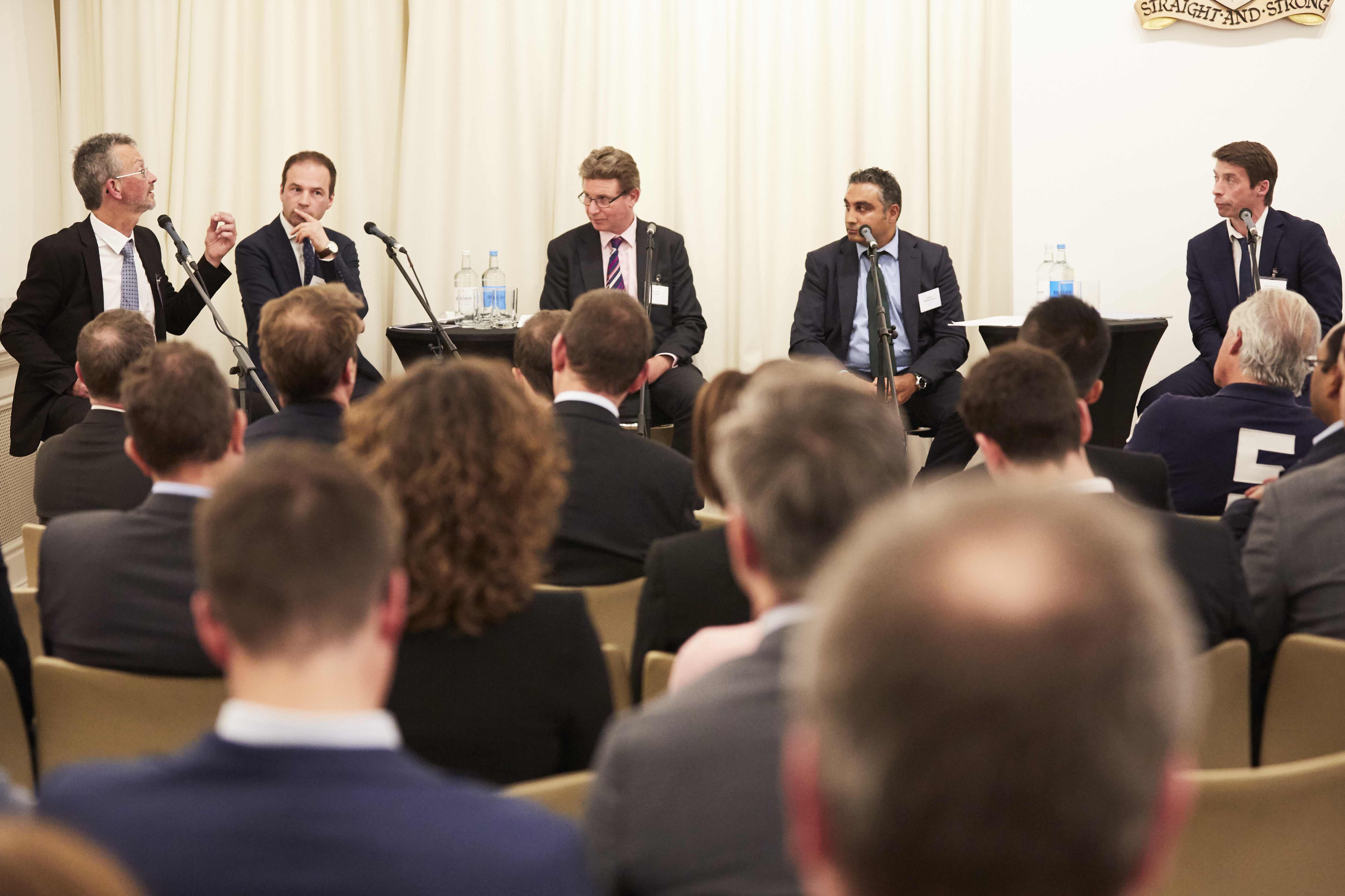 Data Panel: The battle for data ownership (Chaired by Bob Currie, Research Editor, Funds Europe, picured far left)