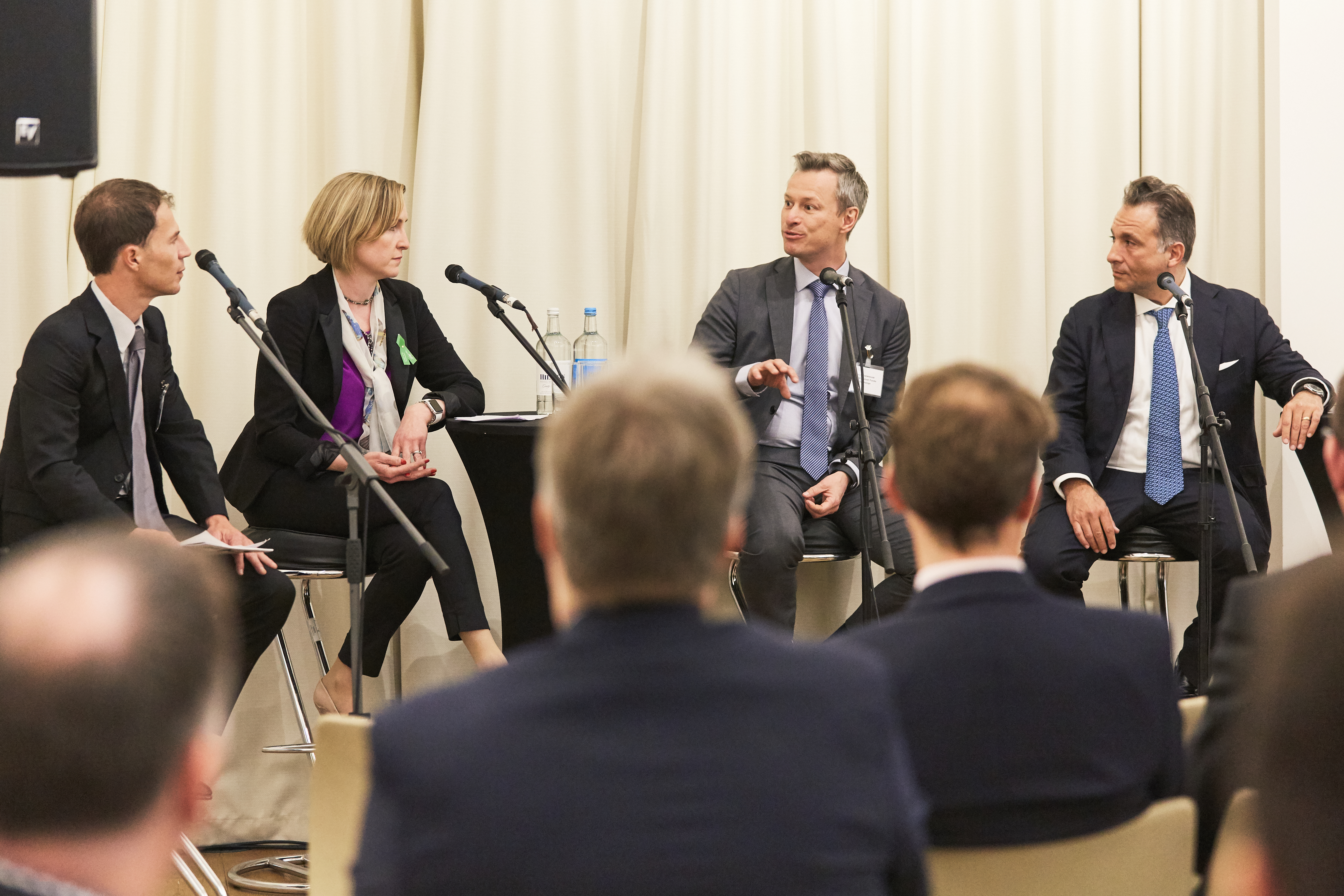 Fund Platforms Panel: Platforms 2.0 (Chaired by Nik Pratt, Technology & Operations Editor, Funds Europe, pictured far left)