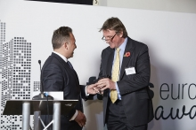 Thought Leadership - Northern Trust. Accepted by Mark Austin, presented by Edward Glyn.