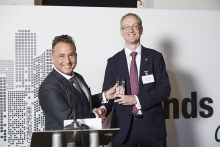 Consultant - Alpha Financial Markets Consulting. Accepted by Nick Baker, presented by Edward Glyn.