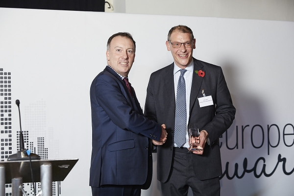 Asset Manager €20-€100bn - Jupiter Asset Management. Accepted by Nick Ring, presented by Paul Roberts.